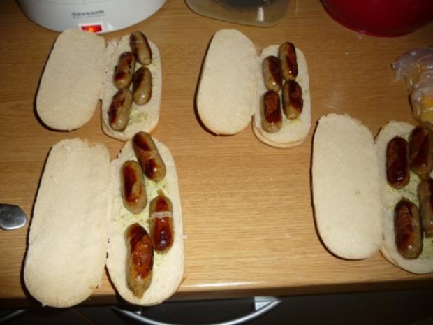 Hot Dogs - Rezept - Bild Nr. 4
