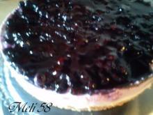 Backen: Heidelbeercreme-Torte - Rezept