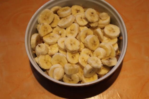 Bananen Apfel Crumble - Rezept - Bild Nr. 4