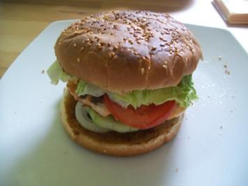 Rezept: Lachs Hamburger