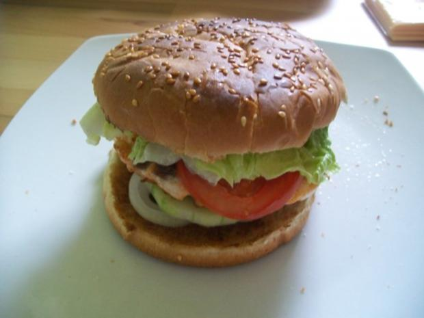 Lachs Hamburger - Rezept