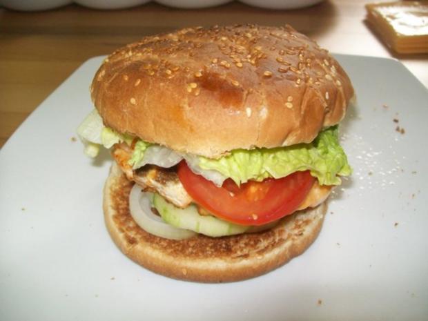 Lachs Hamburger - Rezept - Bild Nr. 4