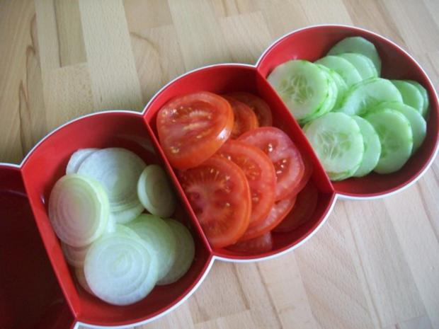 Lachs Hamburger - Rezept - Bild Nr. 3