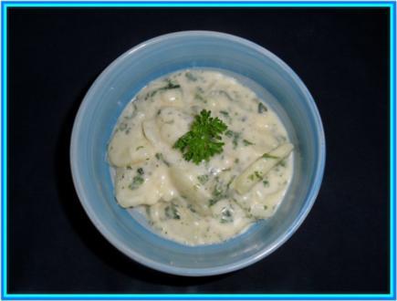 Petersilien-Kartoffelgemüse - Rezept
