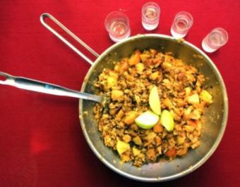 Karamellisierter Apfelschmarrn (Doreen Dietel) - Rezept