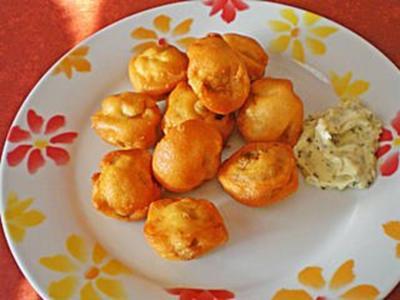 Pilze in Parmesankruste - Rezept