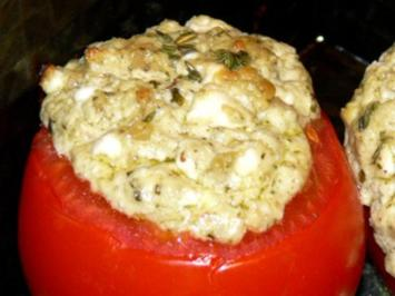Tomaten mit Ziegenkäse - Rezept