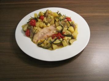 Pangasius-Gemüse-Päckchen - Rezept