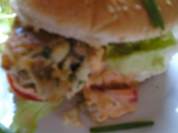 Fisch-Klobse- Fisch-Burger - Rezept - Bild Nr. 2