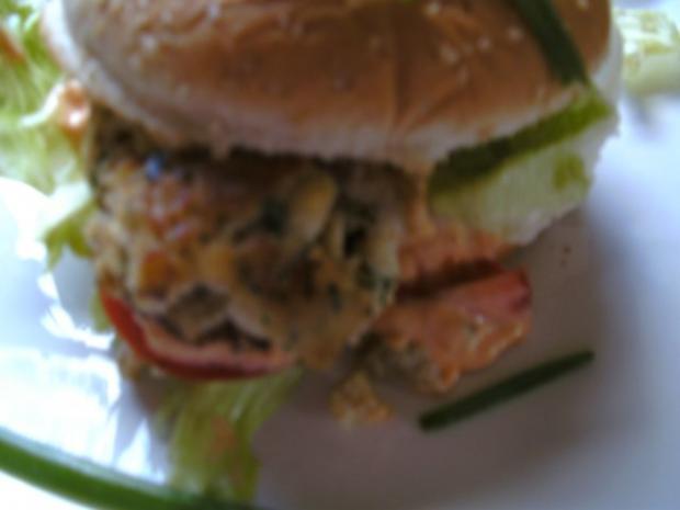 Fisch-Klobse- Fisch-Burger - Rezept