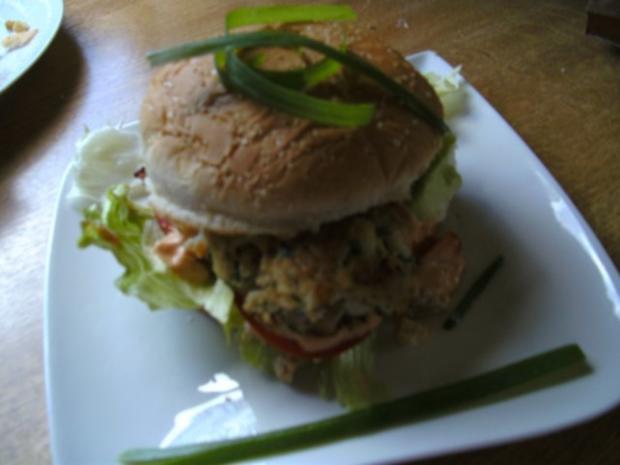 Fisch-Klobse- Fisch-Burger - Rezept - Bild Nr. 3