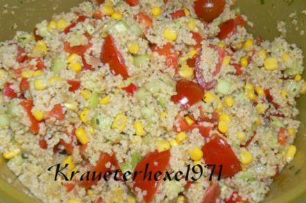 Couscous -Salat - Rezept