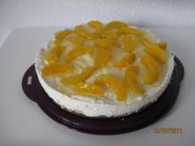 Pfirsich - Käse - Sahne - Torte - Rezept