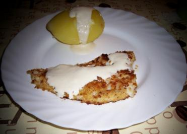 Kochen: Laboer Dorsch, gebraten ... mit Meerrettich-Sahne-Sauce - Rezept