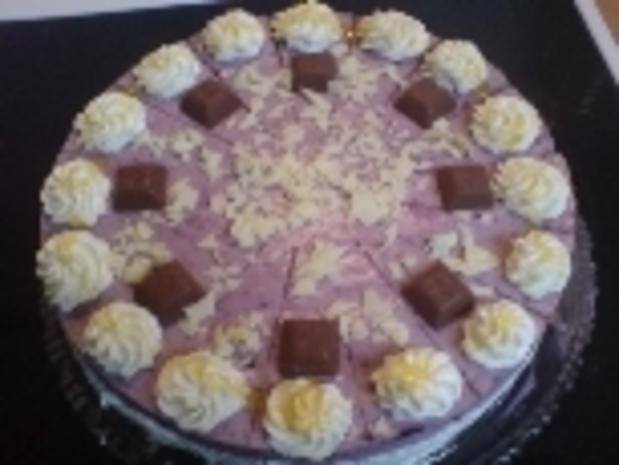 Heidelbeer-Quarktorte - Rezept
