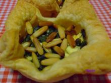 Spinat-Feta-Törtchen - Rezept
