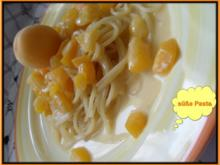 Pasta mit Aprikosen-Sauce - Rezept