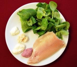 Feldsalat mit geräucherten Forellenfilets (Klaus Gronewald) - Rezept - Bild Nr. 9