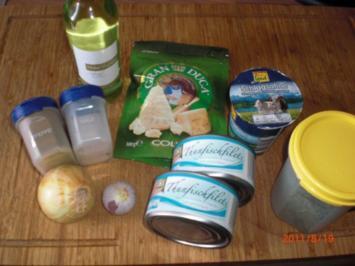 Spaghetti mit Weißwen-Thunfischsauce - Rezept