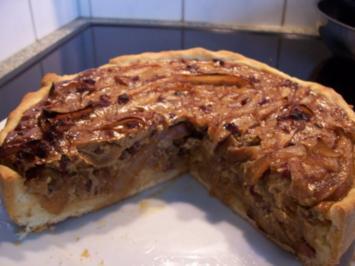 Kleiner Zwiebelkuchen - Kuchen einmal herzhaft - Rezept