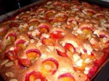 Kuchen: Zwetschgenkuchen - Rezept