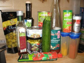 Tiggi´s italienische Pastasauce - Rezept