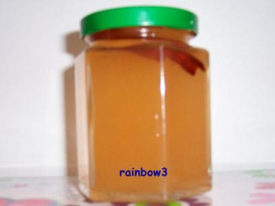 Einmachen: Apfelgelee, gewürzt - Rezept