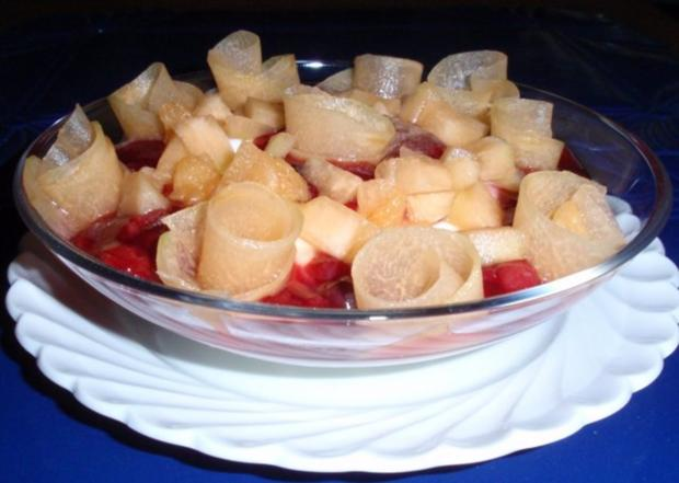 Sommerliches Dessert - Rezept