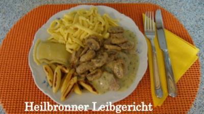 Rezept: Heilbronner Leibgericht -- NT