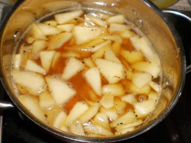 Aprikosen-Apfel-Kompott mit Joghurt und Wallnüssen - Rezept - Bild Nr. 11
