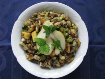 Rezept: Salat: Linsensalat
