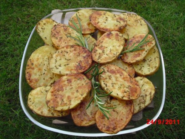 Rosmarinkartoffeln vom Blech - Rezept