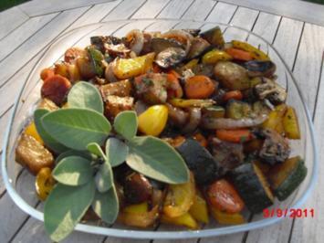 Antipasti-Gemüse - Rezept