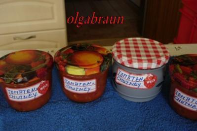 Tomaten-Chutney - Rezept