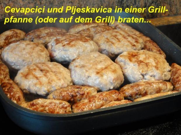 Fleisch:   GRILLTELLER   kroatische Art - Rezept - Bild Nr. 5