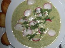 Radieschensuppe mit gleicher Einlage - Rezept