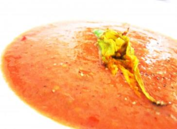 Fruchtiges Gazpacho - Rezept