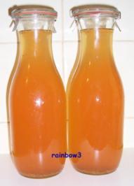 Sirup: Apfel - Rezept