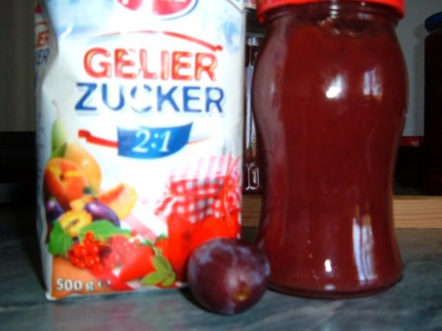 Brotaufstrich :  Zwetschgen Marmelade - Rezept - Bild Nr. 2