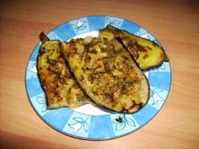 marinierte Auberginen - Rezept