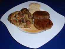Ochsenfilet mit pfiffigen Bratkartoffeln - Rezept