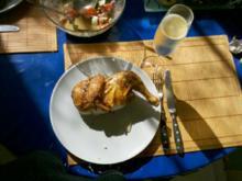 Geflügel: Tandoori-Hähnchen mit Ciabatta - Rezept