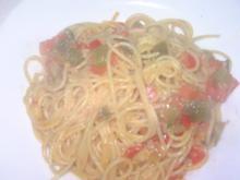 Gemüse-Spaghetti - Rezept