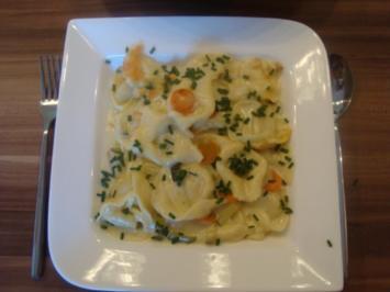 Gemüse-Tortellini-Auflauf - Rezept