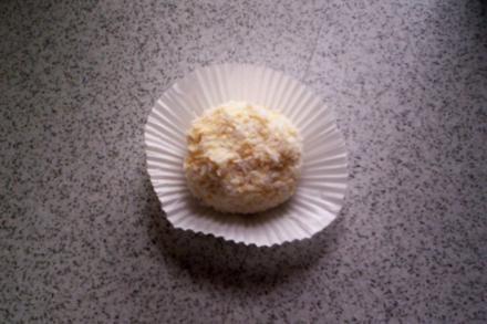 Kokos-Quark-Bällchen - Rezept