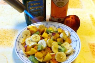 Obst Brúlee - Rezept