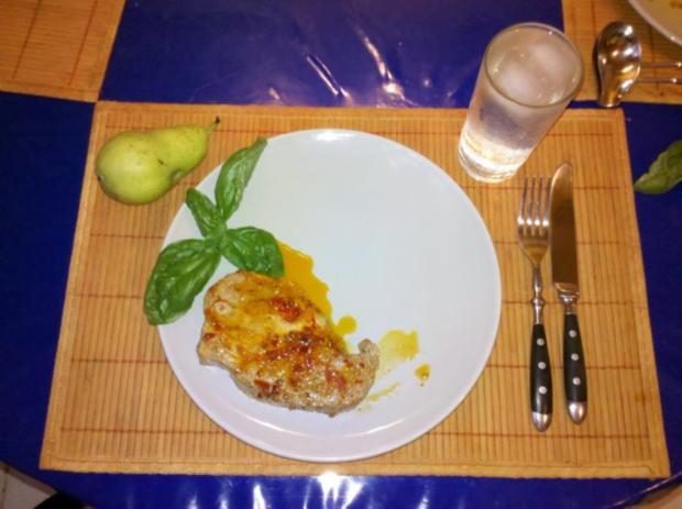 Fleisch: Sambal Oelek-Steaks mit Wildsauce und Steinpilznudeln - Rezept - Bild Nr. 9