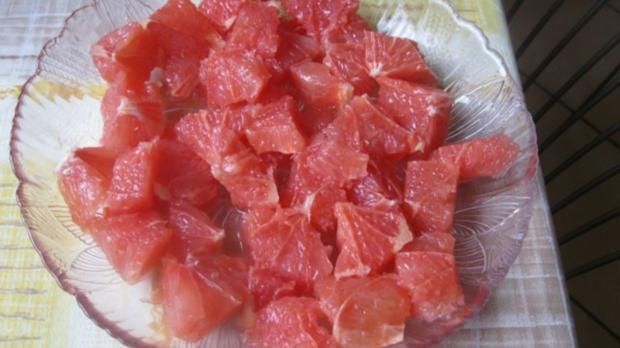 Paniertes Dorschfilet mit Grapefruitgemüse - Rezept - Bild Nr. 5