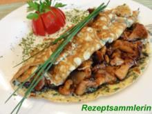 Eier:   KRÄUTER - OMELETT mit Pfifferlingfüllung - Rezept