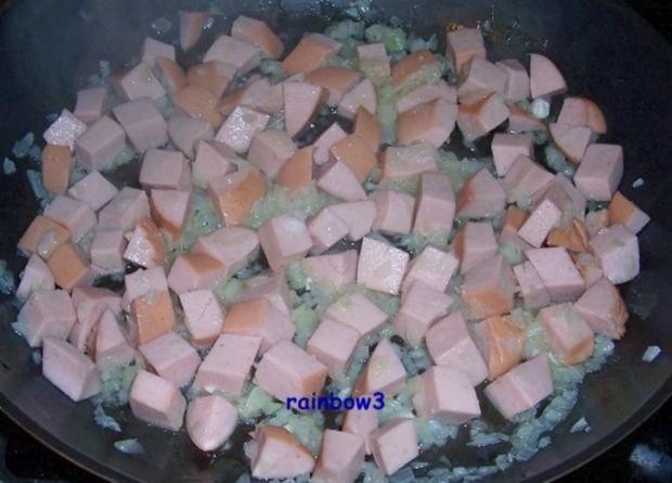 Kochen: Wurst-Sauerkraut-Pfanne - Rezept